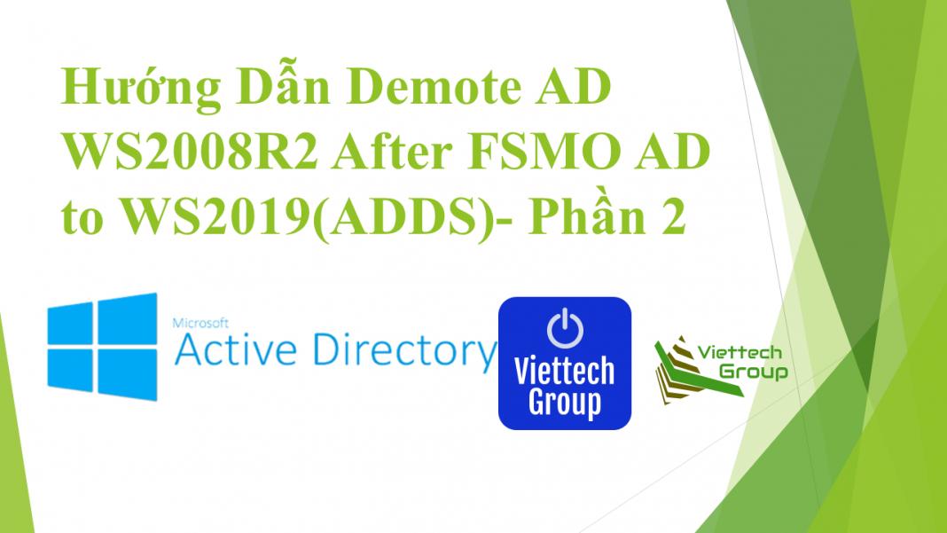 Transfer Roles Ad2019 Demote